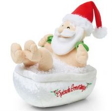 ANIMATED BATHING SANTA